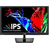 LG 27EA33V Black 27-Inch  Widescreen LED Anti-Glare Monitor, 1080p Slim IPS-Panel, VGA, DVI, HDMI