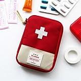 #7: Shopo's Mini Small First Aid Kit Travel Pouch Medicine Storage Bag