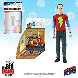 The Big Bang Theory Sheldon Shazam 3 3/4-Inch Fig -Con Excl.