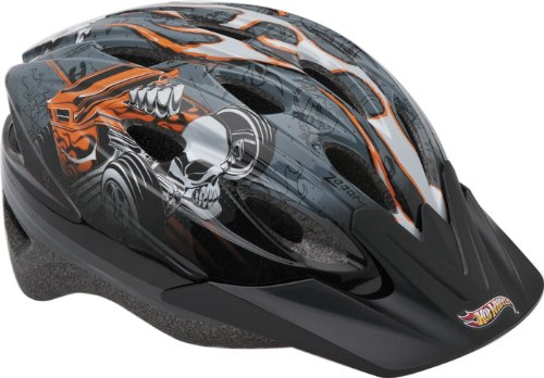 Bell Hot Wheels Rally Racer Helmet (Black, Child)