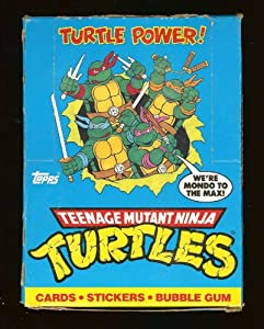 Teenage Mutant Ninja Turtles The Animated Series Trading Card Box, Complete