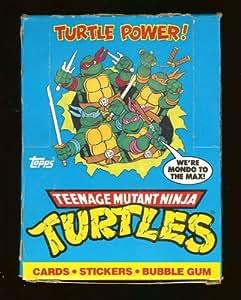 Teenage Mutant Ninja Turtles The Animated Series Trading Card Box, Complete