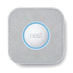 Nest S2003BW Smoke Plus Carbon Monoxide Detector by Nest