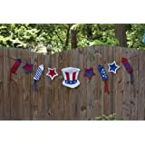Clothesline Banner, Uncle Sam by Ashley Gifts