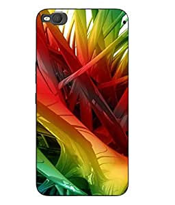 Case Cover Abstract Printed Colorful Hard Back Cover For HTC One X9 Smartphon