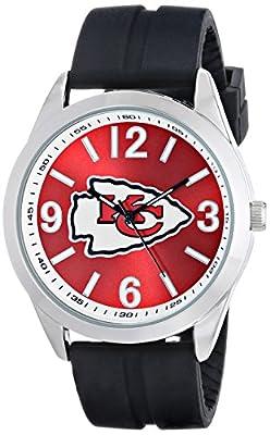 "Game Time Men's NFL-VAR-KC ""Varsity"" Watch - Kansas City Chiefs"