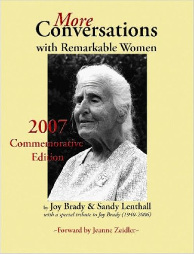 More Conversations with Remarkable Women