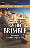 What Belongs to Her (Harlequin Superromance)