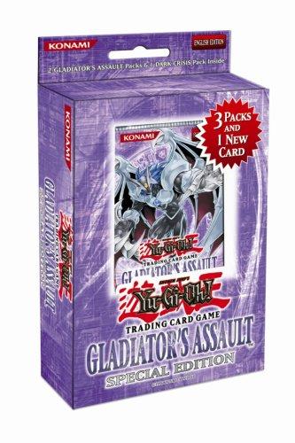 YuGiOh GX Gladiator's Assault SE Special Edition Pack [Random Promo] - 1