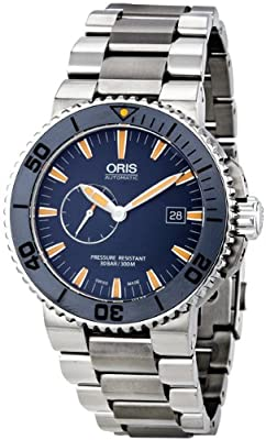 Oris Men's 01 643 7654 7185 Set-MB Maldives Blue Dial Watch