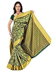 Varkala Silk Sarees Silk Kanchipuram Saree With Blouse Piece - B00MBA4WW4