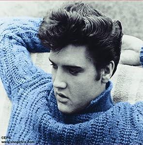 Amazon Com Elvis Presley Mouse Pad Blue Sweater Office