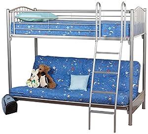 Sweet Dreams Garnet Single Bunk Double Sofa Bed, 201 x 137 x 170 cm