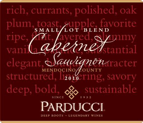 Parducci Wine Cellars 2010 Parducci Small Lot Blend Cabernet Sauvignon Mendocino County 750 Ml