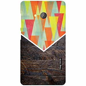 Design Worlds Microsoft Lumia 540 Dual SIM Back Cover - Wood Designer Case and Covers