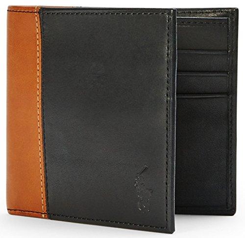 Ralph Lauren-A portafoglio in pelle da uomo, in confezione regalo Black Taglia unica