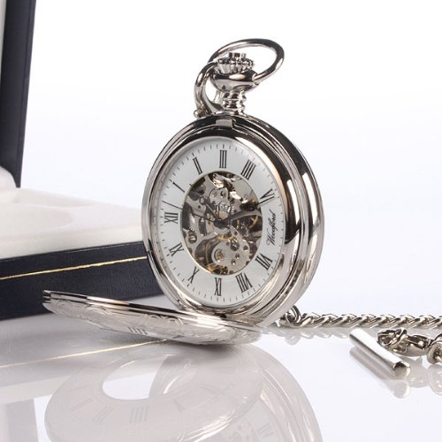 Skeleton Personalised Pocket Watch