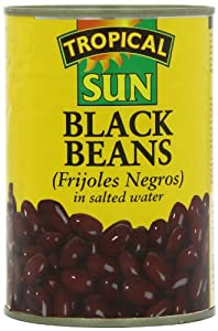 Tropical Sun Black Beans 400 g cans (pack of 12)