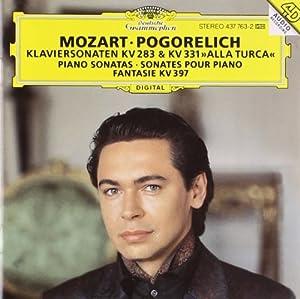 "Mozart : Sonates pour piano KV 283 & KV 331 ""Alla Turca"" / Fantaisie KV 397"