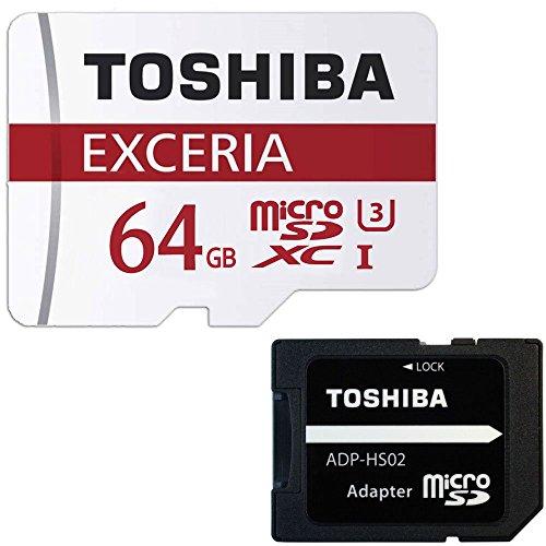 東芝 Toshiba 超高速U3 4K対応 microSDXC 64GB 専...