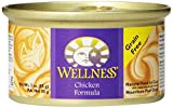 Wellness Canned Cat Food, Chicken Recipe, 3-Ounce Cans, Pack of 24