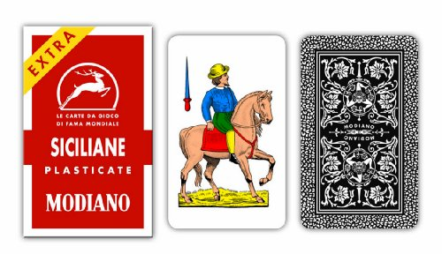 Italian Sicilian Scopa Playing Cards - 1