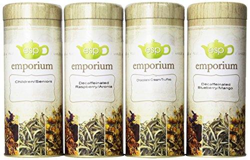 ESP Tea Emporium Decaffeinated Tea Gift Package, 4 Count (Esp Gift Package compare prices)