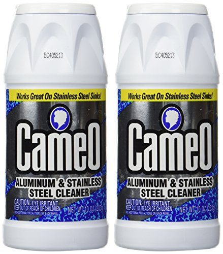 Cameo Aluminum & Stainless Steel Cleaner 10 oz. (Pack of 2) (Aluminum Pan Cleaner compare prices)