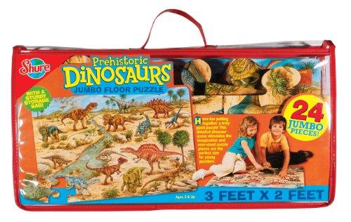 Cheap Fun Shure Dinosaurs Floor Puzzle (B000XDXM7C)