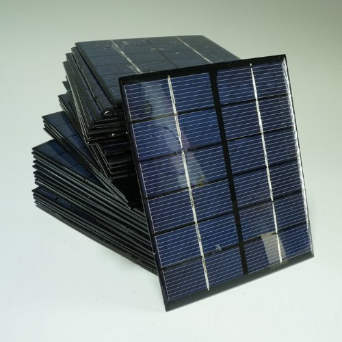 Sunnytech® 1pc 2w 6v 333ma Mini Solar Panel Module Solar System Solar Epoxy Cells Charger DIY