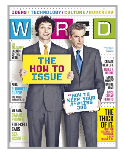 Wired Magazine Gift Subscription Gift Pack ( 12 issues)