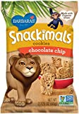 Barbara's Snackimals Cookies, Chocolate Chip, 2.125 Ounce (Pack of 18)