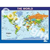 The World Geography Educational Wall ChartPoster in laminated paper A1 850mm x 594mm