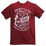 Disney Disney Land Resort Est.'55 Mickey Mouse T Shirts in Red