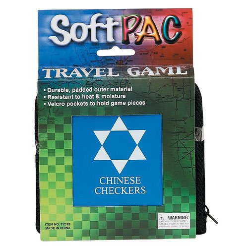 D&D Distributing Soft Pac Travel Chinese Checkers - 1