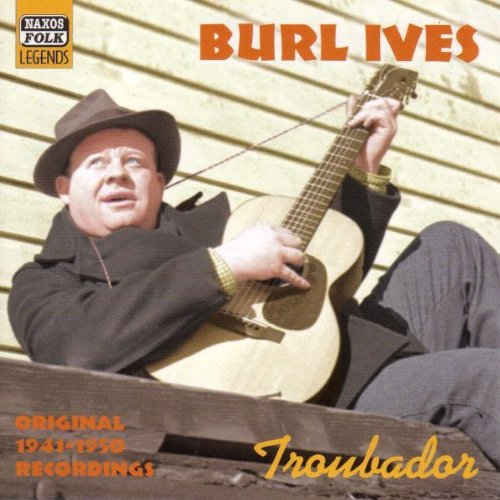 Troubador-Burl-Ives-Audio-CD