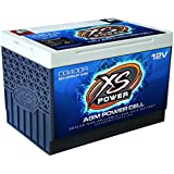 XS Power D3400R 12V Battery (BCI Group 34R AGM Max Amps 3,300A, CA: 1000 Ah: 65, 2500W/4000W)