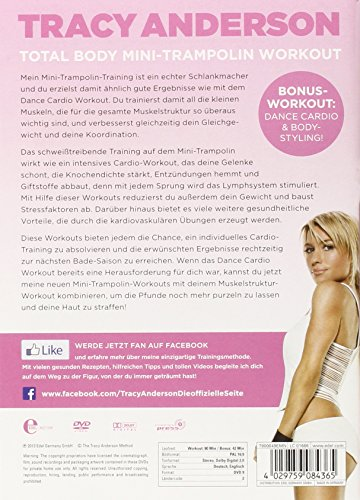Die Tracy Anderson Methode - Total Body Mini-Trampolin Workout -