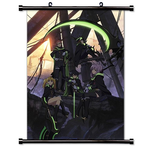 Seraph of the End (Owari no Seraph) Anime Fabric Wall Scroll Poster (32x46) Inches