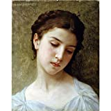 Art Panel - Head Of A Young Girl 1898