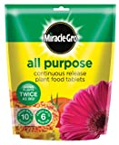 Miracle M-gro C/Release Plant Food Tabs X25