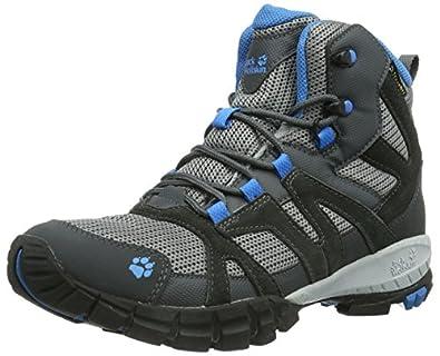 Jack Wolfskin  VOLCANO MID TEXAPORE MEN, Chaussures de randonnée homme - Multicolore - Mehrfarbig (brilliant blue), 41 EU