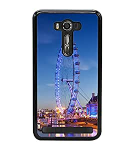 London Eye 2D Hard Polycarbonate Designer Back Case Cover for Asus Zenfone 2 Laser ZE550KL (5.5 INCHES)