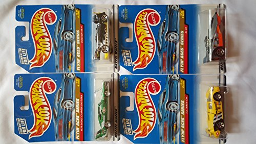 Hot Wheels 1998 Flyin' Aces Series Set of 4 - 1