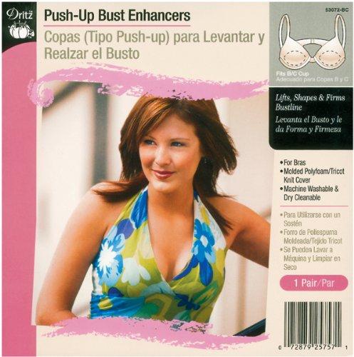 Push-Up Bust Enhancers-Fits B/C Cup 1 pcs sku# 644451MA