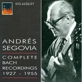 Prelude in C Minor, BWV 999 (arr. A. Segovia)