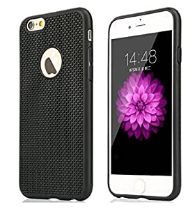 Tidel Exclusive Dotted Matte Finish Soft Back Cover for Apple iPhone 5/5s( Black )