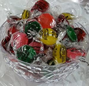 Candy Baskets - Candy Dish Filled with Sugar Free - fruit Button Kosher Kleins Candy