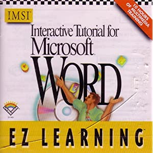 Interactive Tutorial for Microsoft Word (master Microsoft Word 6