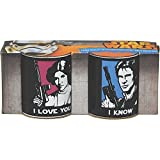 Star Wars Han Solo & Princess Leia Mini Mug Set